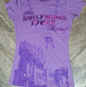 The Hollywood Tower Hotel tee from Disney Parks